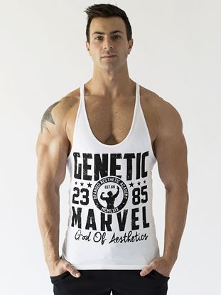 Picture of Genetic Marvel Singlet Winter 2015 100% Combed Cotton